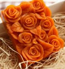 <b>3d Rose</b> Flower Silicone <b>Soap</b> Candle Molds <b>Rectangle Soap</b> Mold ...