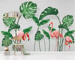 beibehang <b>Custom</b> wallpaper <b>3d mural</b> modern <b>minimalist</b> tropical ...