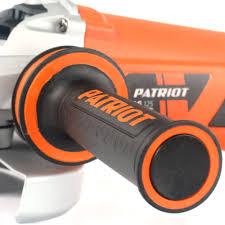 угловая <b>шлифовальная машина patriot ag</b> 125 110301215 ...