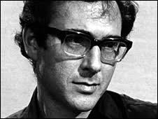 Harold Pinter in 1969. Pinter was a fierce fighter for freedom of speech - _45330603_harold_pinter_bbc1969_226i