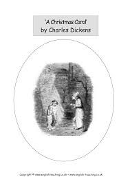 key stage prose the christmas carol by charles dickens