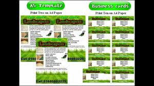 landscaping flyer template teamtractemplate s lawn care flyer templates landscape gardening leafletsflyer template tq4pcux4