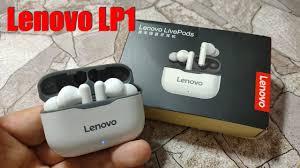 <b>Lenovo</b> LP1 (LivePods) Обзор <b>TWS</b> Наушников с Шикарным ...