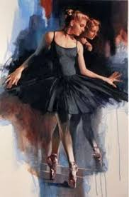 л: лучшие изображения (7) | Балерины, Живопись балерины и ...