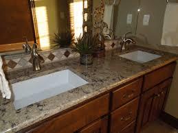 types kitchen countertops granite granite counter captivating bathroom vanity twin sink enlightened