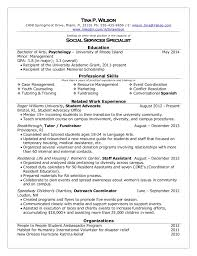 example of a college student resume  seangarrette coresume samples for college students and recent grads    example of a college student resume