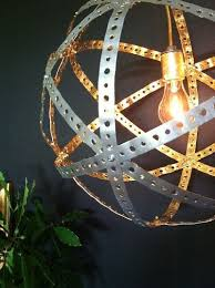 great diy industrial chic pendant light want to repurpose rusty old wine barrel bands to make chic lighting fixtures