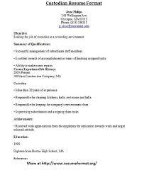 custodian resumeskyemag com   skyemag comcustodian resume format flickr photo sharing a h cazl