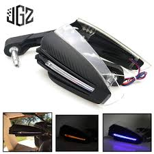 <b>22mm Motorcycle</b> Universal <b>Hand Guard</b> with LED Turn Signal Light ...
