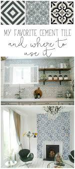 tile backsplash bathroom trendy busy pattern