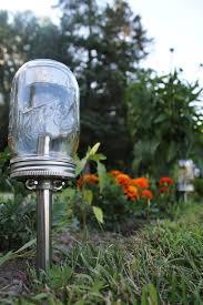 solar powered mason jar lights eco friendly mason jar outdoor path light single stainless ball mason jar solar lights