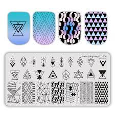 YIDA  BeautyBigBang <b>6*12cm Nail Art</b> Stamp Template Plate ...