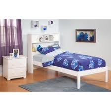 buy atlantic furniture urban lifestyle newport bookcase bed twin size w open foot rail on atlantic furniture orleans transitional twin open foot