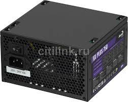 <b>Блок питания</b> AEROCOOL VX PLUS 750W, <b>750Вт</b>, 120мм, черный ...