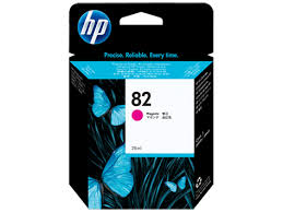 <b>HP 82 Magenta</b> Ink Cartridge <b>28ml</b> for DesignJet 500, 510, 800 ...