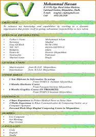 4 resume format freshers resume formt cover letter examples latest format of cv for freshers resume pdf file