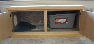 its positioned cat litter box covers furniture