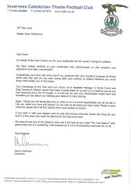 year old pens heartwarming letter applying for inverness kenny letter ewen