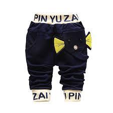 Lisin Infant Toddler Baby Boys Pants Cartoon Print ... - Amazon.com