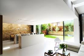 office kitchen design contemporary kitchen brick wall modern home in london by bureau de change design chatham home office decorator