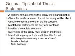 Thesis of an essay   Music homework help ks