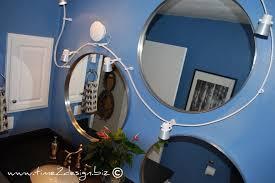 flexible track lighting bathroom eclectic with bathroom bathroom mirrors flexible track light mirror round mirrors track blue track lighting