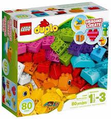 <b>Конструктор LEGO Duplo</b> 10848 <b>Мои</b> первые кубики — купить по ...