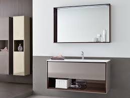 built bathroom vanity design ideas: furniture inspiration fabulous double white sink also side storage makeup vanity two square wall mounted mirror built shelves design ideas