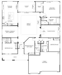 One story houses  First story and Floor plans on PinterestSingle Story Floor Plans   One Story House Plans
