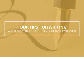 job search advice archives ultimate medical academy four tips for writing a thank you letter for your interviewer