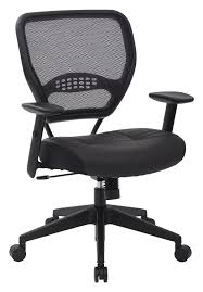 amazoncom space seating professional airgrid dark back and padded black eco leather seat 2 to 1 synchro tilt control adjustable arms and tilt tension amazoncom stills office space