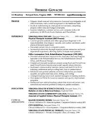 Cover Letter  Resume Examples for Administrative Assistant  resume         Cover Letter  Assistant Resume Objective With Personal Profile And Experience As Physical Therapist Assistant Or Cover Letter  Administrative