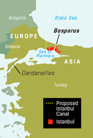 Image result for the bosporus waterway