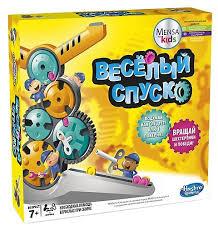 Настольная <b>игра Hasbro Игры Веселый</b> спуск — купить по ...