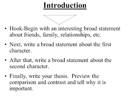 the outsiders expository paper compare two characters from the    introduction hook begin   an interesting broad statement about friends  family  relationships