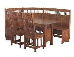 dining table dining tables breakfast nooks amish breakfast nook set
