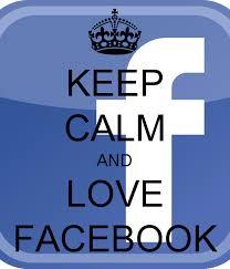 """Résultat de recherche d'images pour """"keep calm and love facebook"""""""