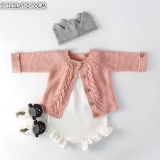 <b>Baby Girls Clothes</b> Autumn <b>Baby knitted</b> Romper Set <b>Infant Newborn</b> ...
