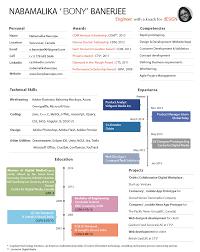 resume com product manager cv onepage v5