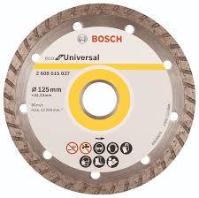 "<b>Диск алмазный Bosch</b> ""ECO <b>Universal</b> Turbo"", диаметр 12,5 см"