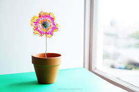 Recycled Plastic <b>Flowers Art</b> and Science Project - Left Brain Craft ...