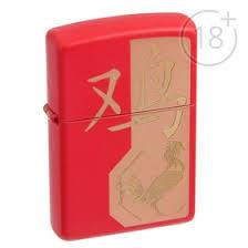 <b>Зажигалка ZIPPO</b> 29259 <b>Classic</b> с покрытием Red Matte (2904462 ...