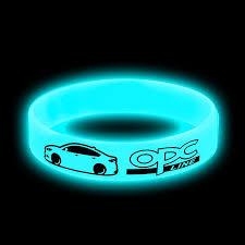 1pcs <b>Sport</b> Luminous blue <b>Hologram</b> Silicone <b>Bracelets</b> Power ...