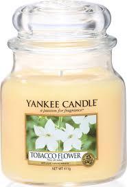 <b>Свеча ароматическая</b> Yankee Candle Цветок Табака/ <b>Tobacco</b> ...