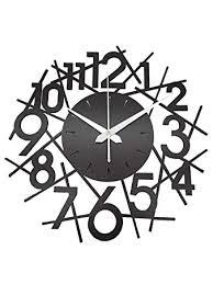 Buy Zuaad Pvt Ltd The Art Arcade <b>Creative Wooden Wall</b> Clock (12 ...