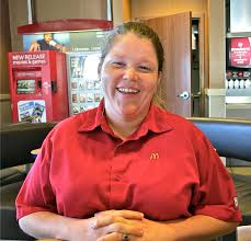 rebecca herrmann loves her mission working as crew member at person of the week rebecca herrmann crew trainer at mcdonald s restaurant