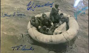 Image result for ww2 bomber crew ditch at sea