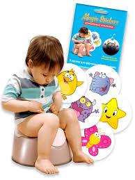 <b>Наклейки для</b> приучения ребенка к горшку <b>Magic Stickers</b> (5 шт ...