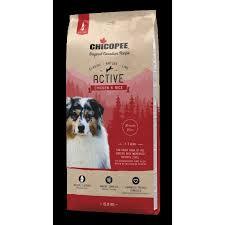 <b>Chicopee Classic Nature Line</b> Active Chicken & Rice 15kg ...
