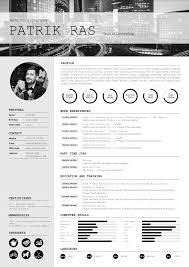 resume cv template graphics blackandwhite bw icons resume cv template graphics blackandwhite bw icons icongraphic